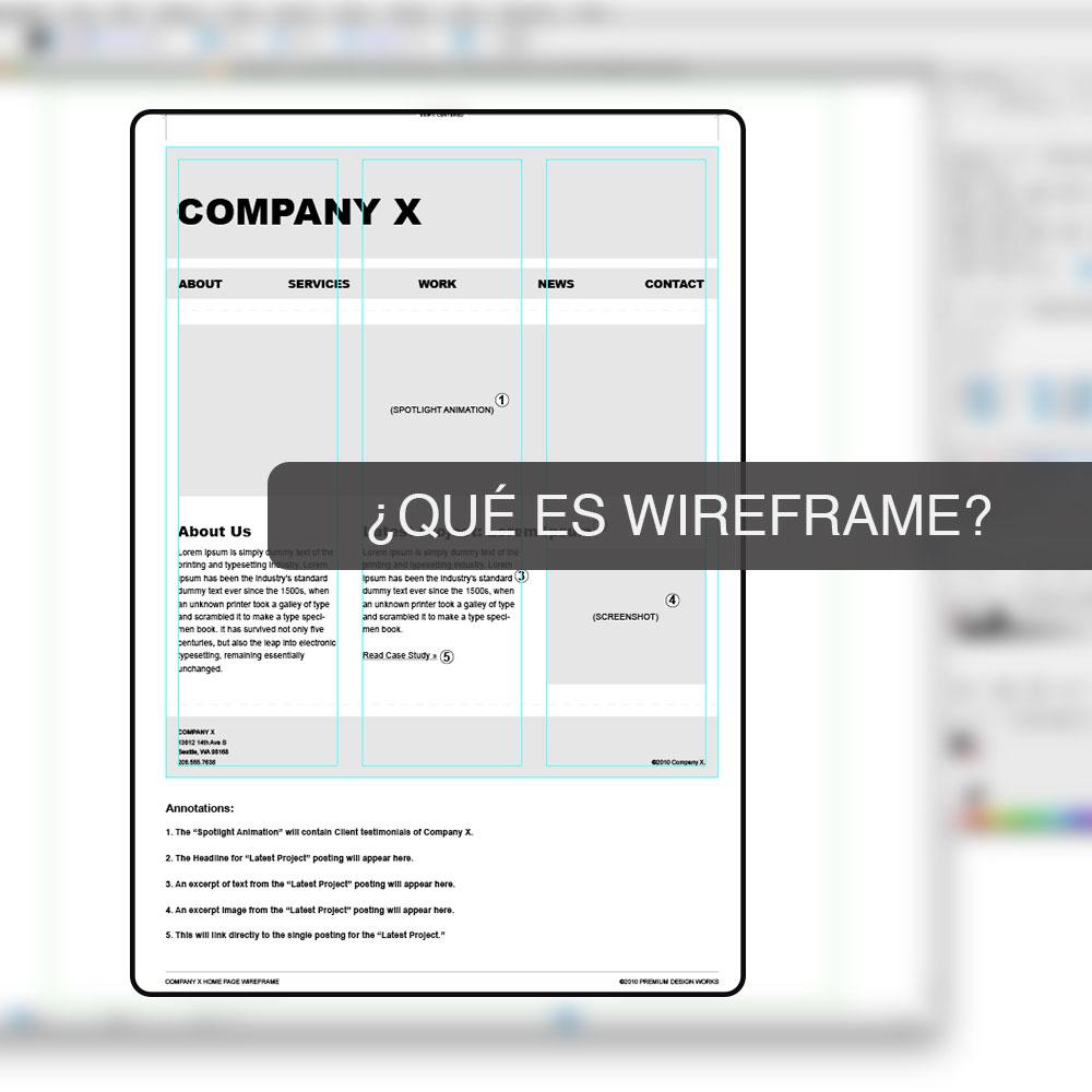 Que-es-Wireframe