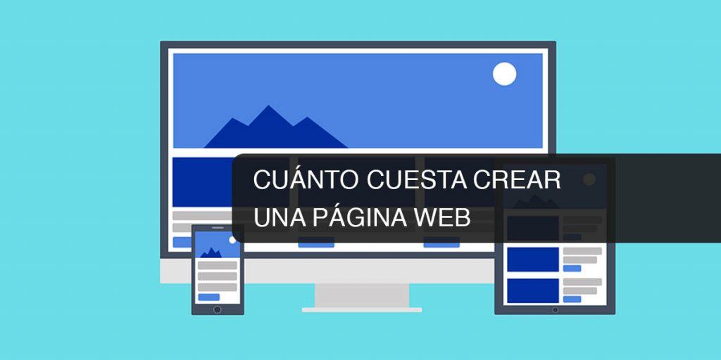 Cu nto cuesta crear una p gina web Crear website