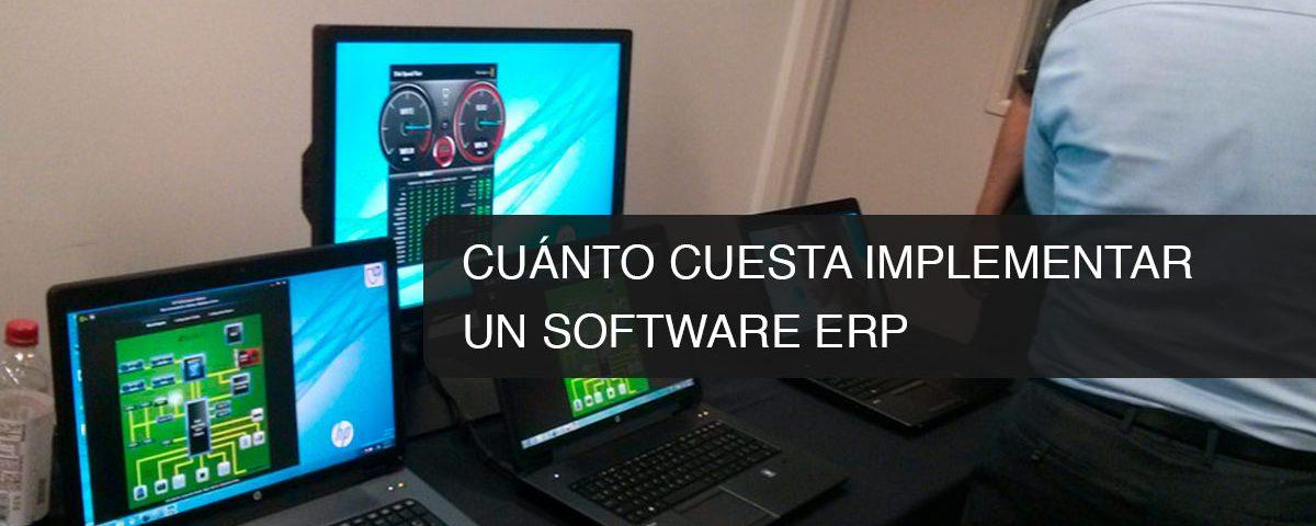 Cuánto cuesta implementar un Software ERP