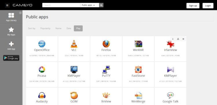 Cameyo: Cómo probar aplicaciones sin instalarlas