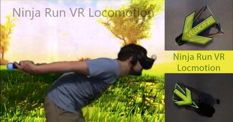 Ninja Run: Una nueva técnica para moverse en entornos virtuales