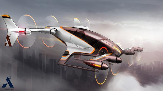 Airbus probará taxis aéreos autopilotados durante el 2017