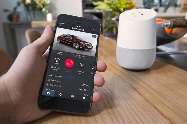 El fabricante alemán decidió aliarse con el asistente virtual Google Home a diferencia de sus competidores VW y Ford que se asociaron con Amazon Echo
