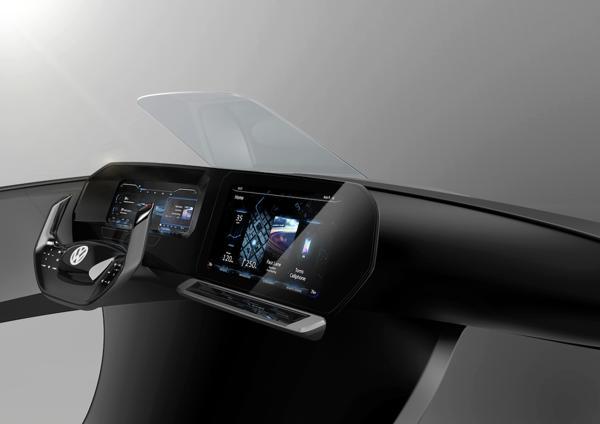 El Digital Cockpit es un estudio de diseño sobre el tablero de instrumentos del futuro que combina tecnología y facilidad de uso