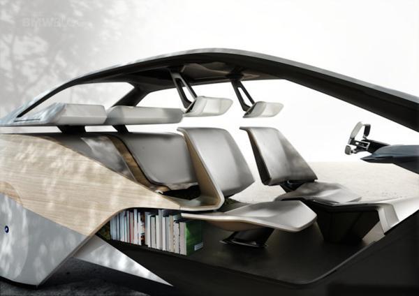 """La expresión de """"living sobre ruedas"""" nunca se materializó de forma más clara que con el concept car de BMW i Inside Future Sculpture presentado en CES 2017"""