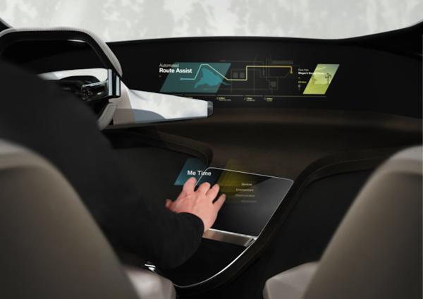 Los controles por gestos de la marca son llevados a un nuevo nivel en el tablero experimental del BMW bautizado HoloActive Touch