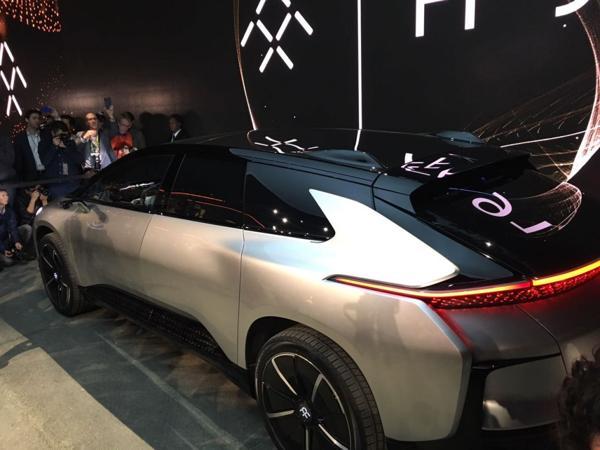 Cómo es el FF 91, el vehículo súper potente de Faraday Future