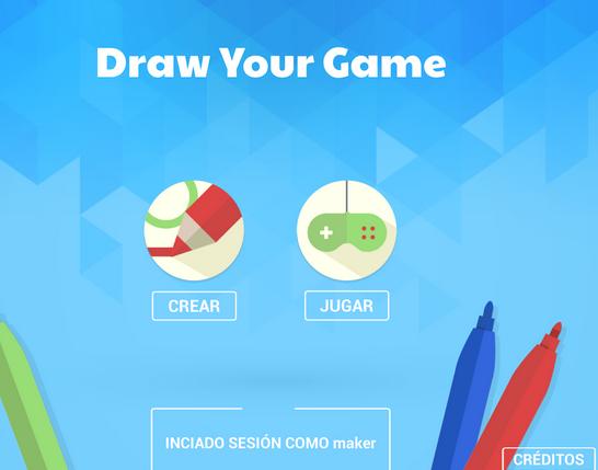 Desarrolla juegos dibujando