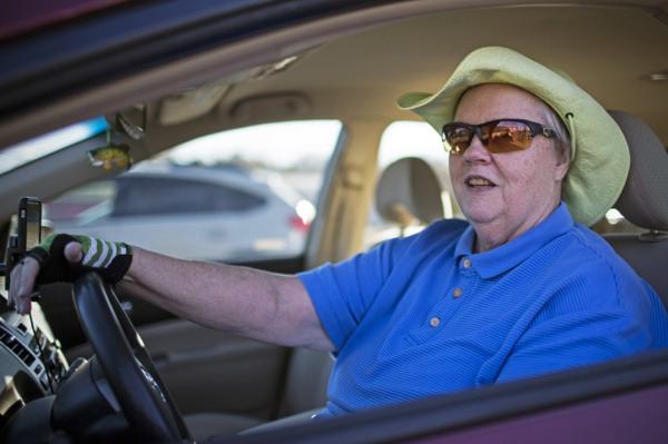 """Janis Rogers, de 64 años, dijo: """"Lo hice porque era una aventura"""" (Chet Strange)"""
