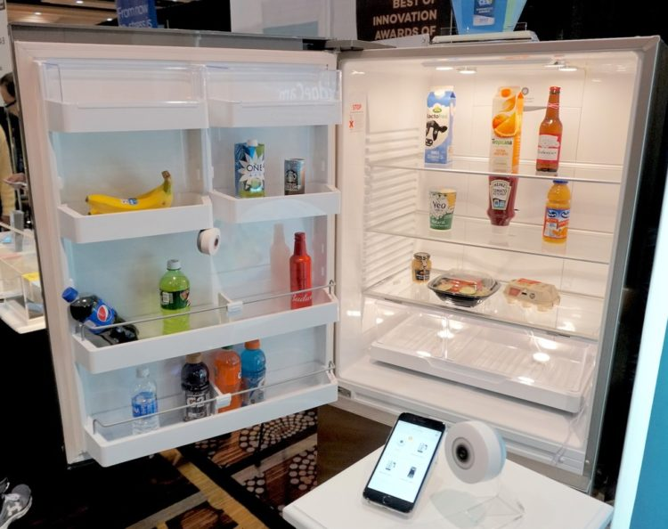 FridgeCam: Transforma tu tonta nevera en una inteligente