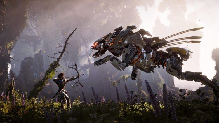 Horizon Zero Dawn: Un mundo postapocalíptico gobernado por criaturas mecanizadas