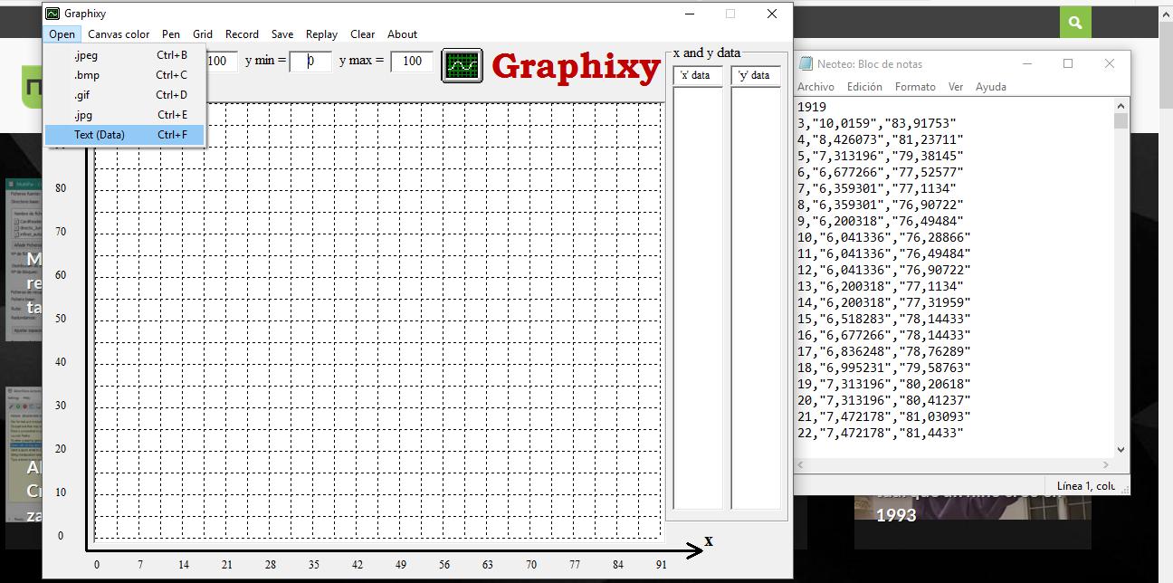 Podrás convertir a coordenadas una imagen