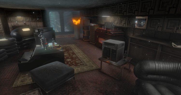 Blade Runner 9732: El piso de Rick Deckard en realidad virtual
