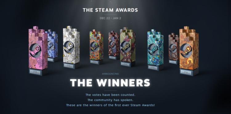 Los Premios Steam, según la comunidad