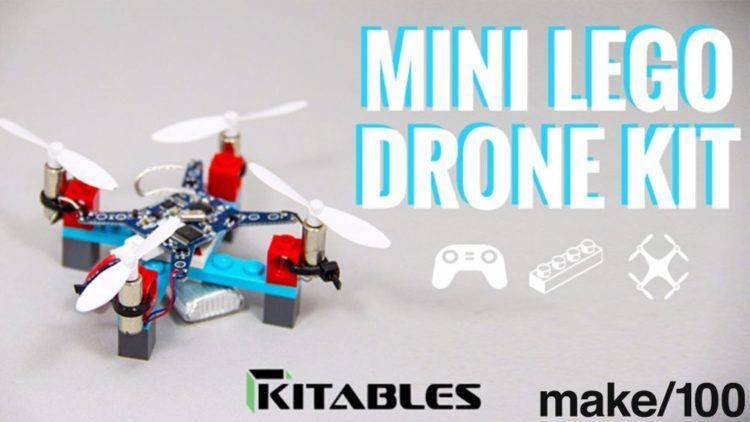 Kitables lanza a un nuevo mini dron hecho con piezas Lego