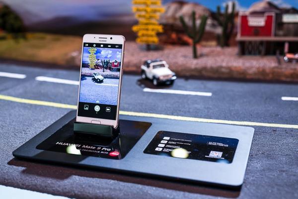 El Huawei Mate 9 Pro fue la estrella de la presentación de la compañía china.