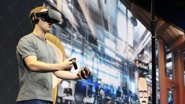 Zuckerberg compró Oculus, que desarrolla dispositivos de realidad virtual, en 2014 por 2300 millones de dólares (AFP)