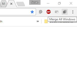 Merge Windows: Cómo unir varias ventanas de Chrome en una sola