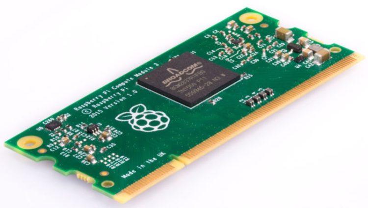 Raspberry Pi lanza a su nuevo Compute Module 3