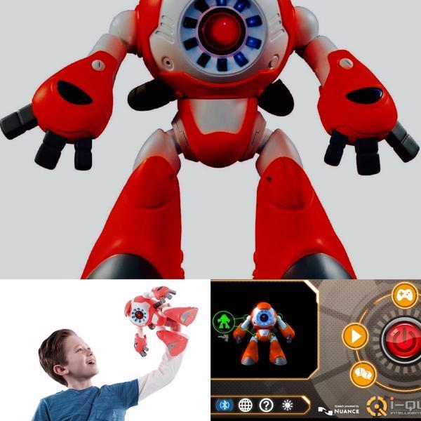El robot inteligente I-Que es otro de los juguetes investigados fabricados por Genesis Toys, con base en Hong Kong
