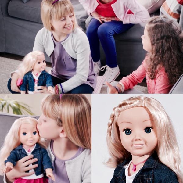"""Cayla es la muñeca interactiva que se encuentra en el ojo de la tormenta por supuestamente utilizar archivos de voz que recolecta de sus """"amigas"""" de carne y hueso para que estos sean usados con fines de lucro por terceros"""