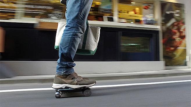 """Walkcar: el vehículo del tamaño de una laptop de 13"""""""