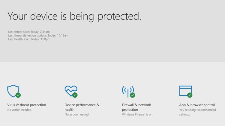 Windows Defender tendrá un nuevo Centro de Seguridad con Windows 10 Creators Update