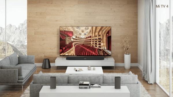 Xiaomi presentó un televisor más delgado que un iPhone y un smartphone súper potente