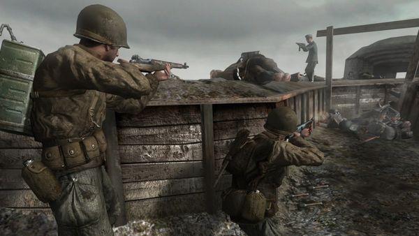 Los primeros Call Of Duty tenían como escenario la Segunda Guerra Mundial.