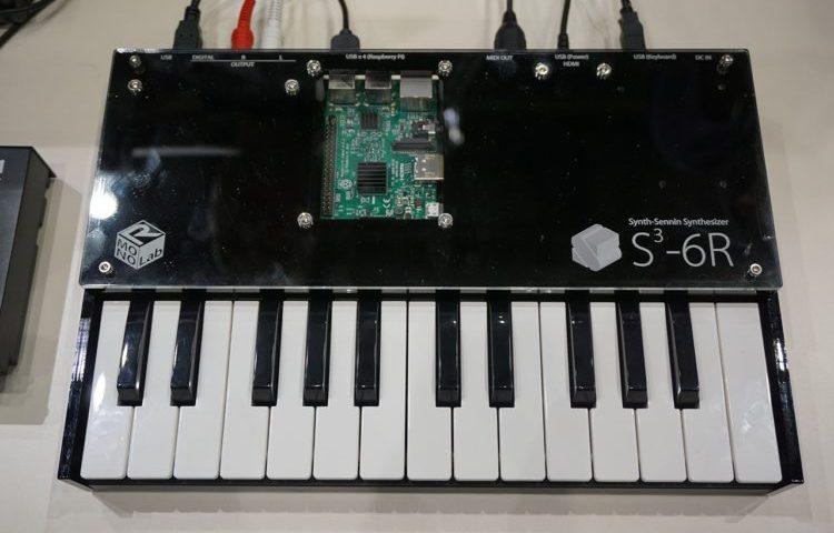 EsCube-6R: Concepto de sintetizador basado en el Raspberry Pi 3
