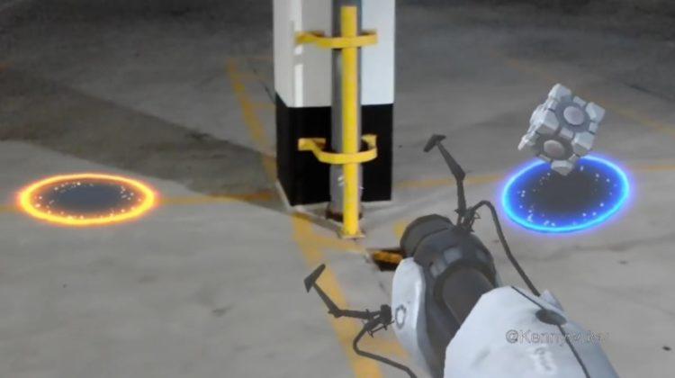 Portal versión HoloLens: ¡Absolutamente genial!