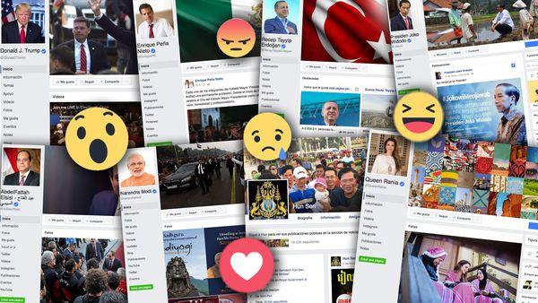 Sorpresa: quiénes son los presidentes que más usan Facebook, más seguidores tienen y más reacciones generan