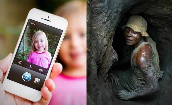 Apple anunció que no comprará más cobalto de las minas de Congo donde trabajan niños
