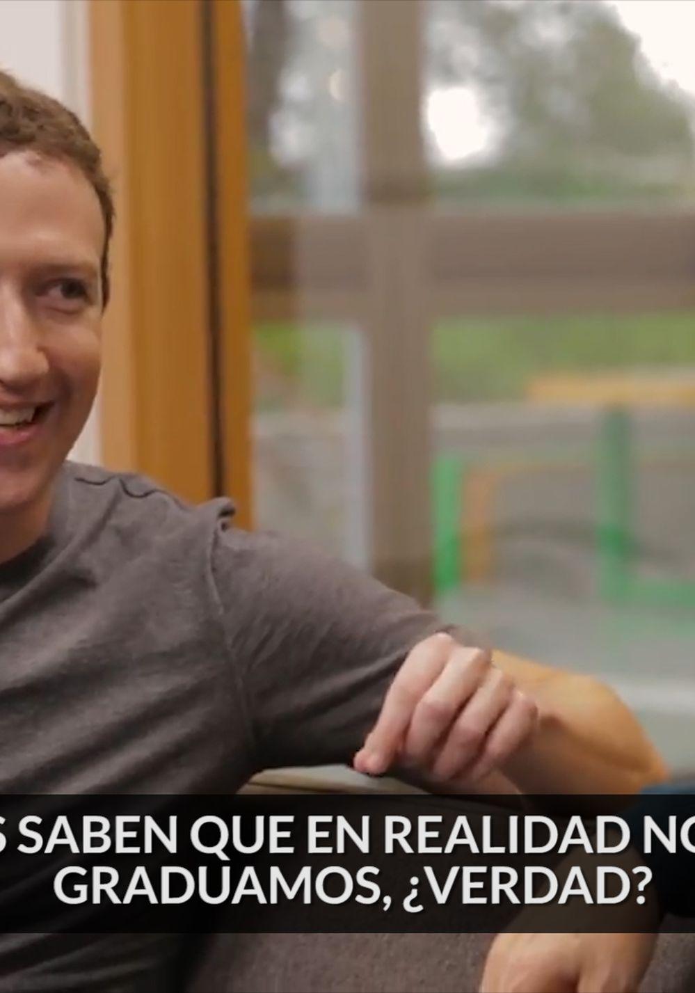 Bill Gates y Mark Zuckerberg quisieron ser graciosos y protagonizaron un grotesco