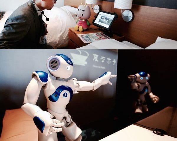 Cómo funciona en Japón el primer hotel atendido por robots