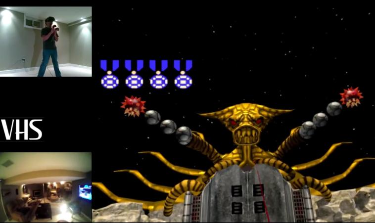 Contra VR: Experimento virtual con el clásico de NES