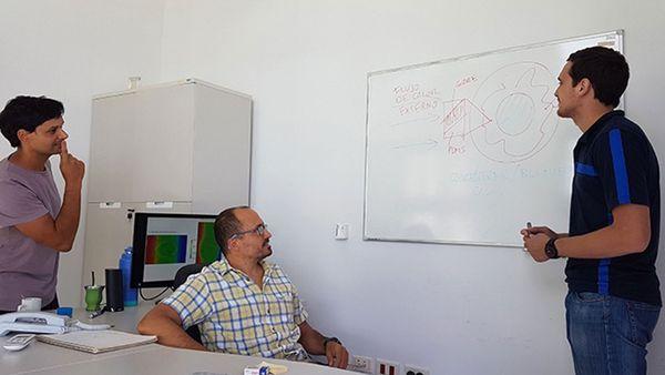 Científicos del Conicet y la Universidad del Litoral del Santa Fe idearon un sistema para utilizar mejor la energía de los circuitos eléctricos (Agencia CyTA-Leloir)