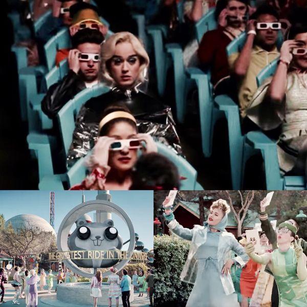 """Katy Perry critica a la sociedad moderna con su último single """"Chained to the Rythm"""". Habla de la vida """"vivida a través de un lente"""" en un mundo de fantasía donde las personas creen ser libres pero viven en una burbuja que no les permite ver la realidad a su alrededor"""