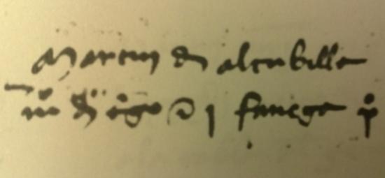 El símbolo de la arroba ya se utilizaba en el año 1448.