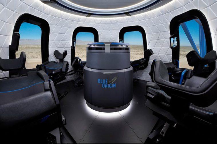 La cápsula espacial de Blue Origin, en imágenes