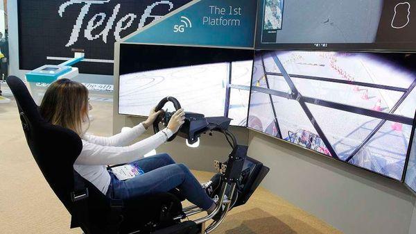 La impactante tecnología 5G permitirá correr carreras a control remoto desde larga distancia