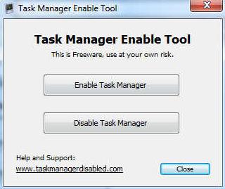 Programas para deshabilitar el Administrador de tareas