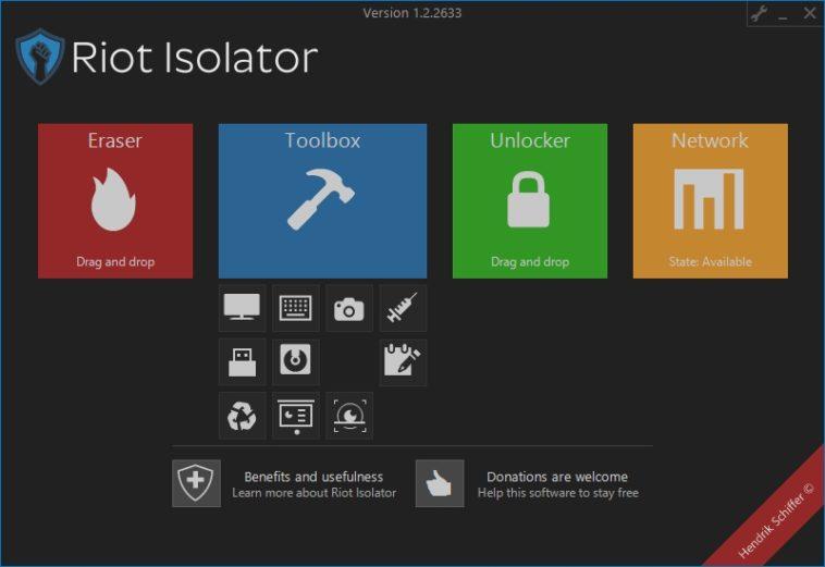 Riot Isolator: Herramienta de protección general para Windows