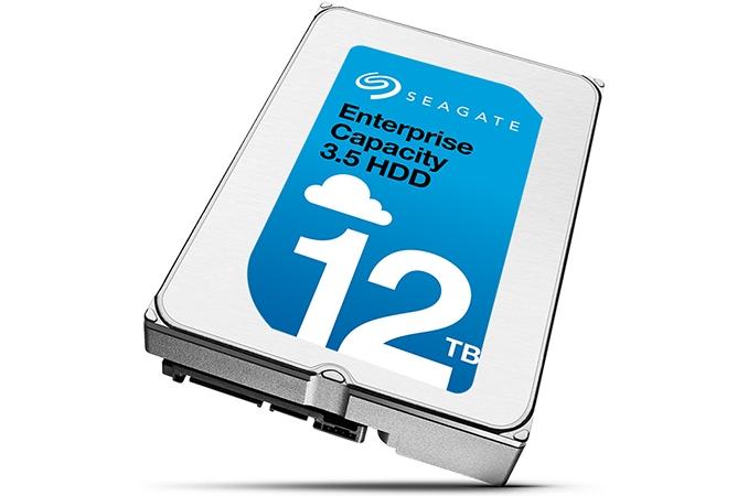 Seagate llega a los 12 terabytes con sus nuevos discos duros