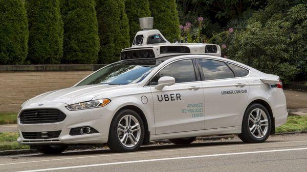 Vehículo automático de Uber