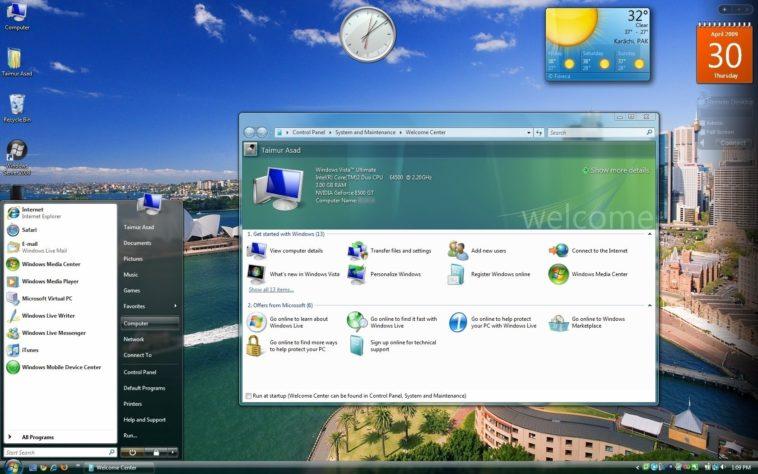 Windows Vista se quedará sin soporte el 11 de abril