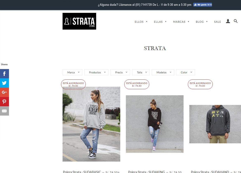 Strata Shopify