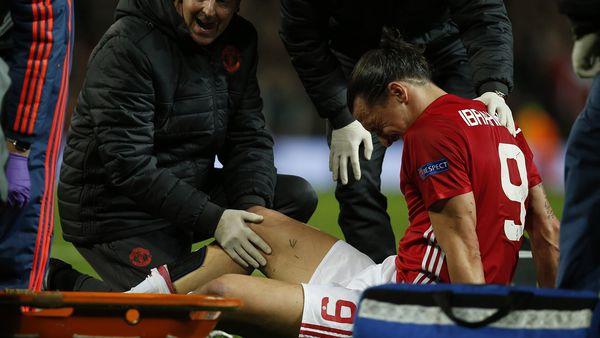 Alarma en el Manchester United: Zlatan Ibrahimovic se perdería el resto de la temporada