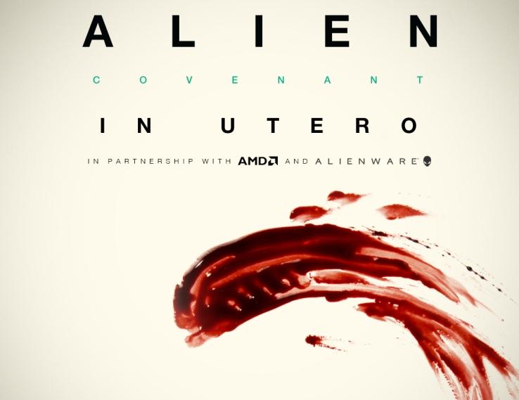 Alien – Covenant In Utero: Realidad virtual, ¡desde los ojos del Alien!
