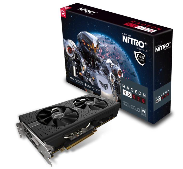 AMD lanzó a sus nuevas tarjetas Radeon RX 580 y 570